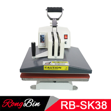 LED Screen Digital Swing Heat Press Machine T shirt 15x15 Sublimation Machine for T shirt Phone