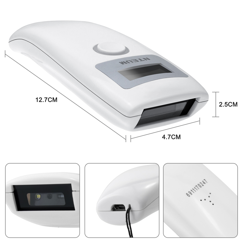Leitor scanner CDD 1D luz vermelha Grande-capacidade
