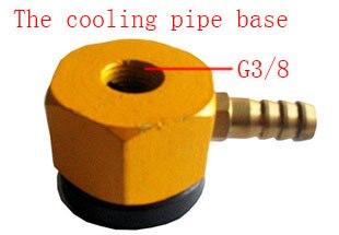 Free shipping 2PCS 3/8 cooling pipe base, universal tubing seat, bamboo tube socket epman universal 3 aluminium air filter turbo intake intercooler piping cold pipe ep af1022 af