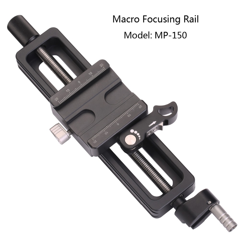 Portable Professional Leofoto MP-150 Camera Accessories Tripod Head Photography Macro Fotografie Macro Focusing Rail for Tripod setto leofoto mp 150 camera accessories tripod head photography macro fotografie macro focusing rail