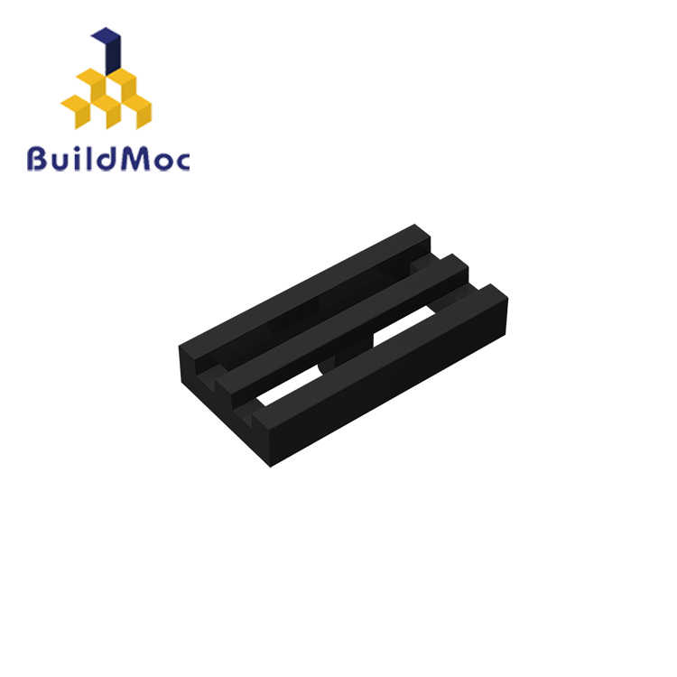 BuildMOC 2412 30244  1x2 Technic Changeover Catch For Building Blocks Parts DIY  Educational Creative gift Toys
