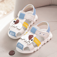 New Summer  Boys Girls Sport Beach Sandals elephant Kids Shoes  Closed Toe Toddler  Sandals Children Shoes