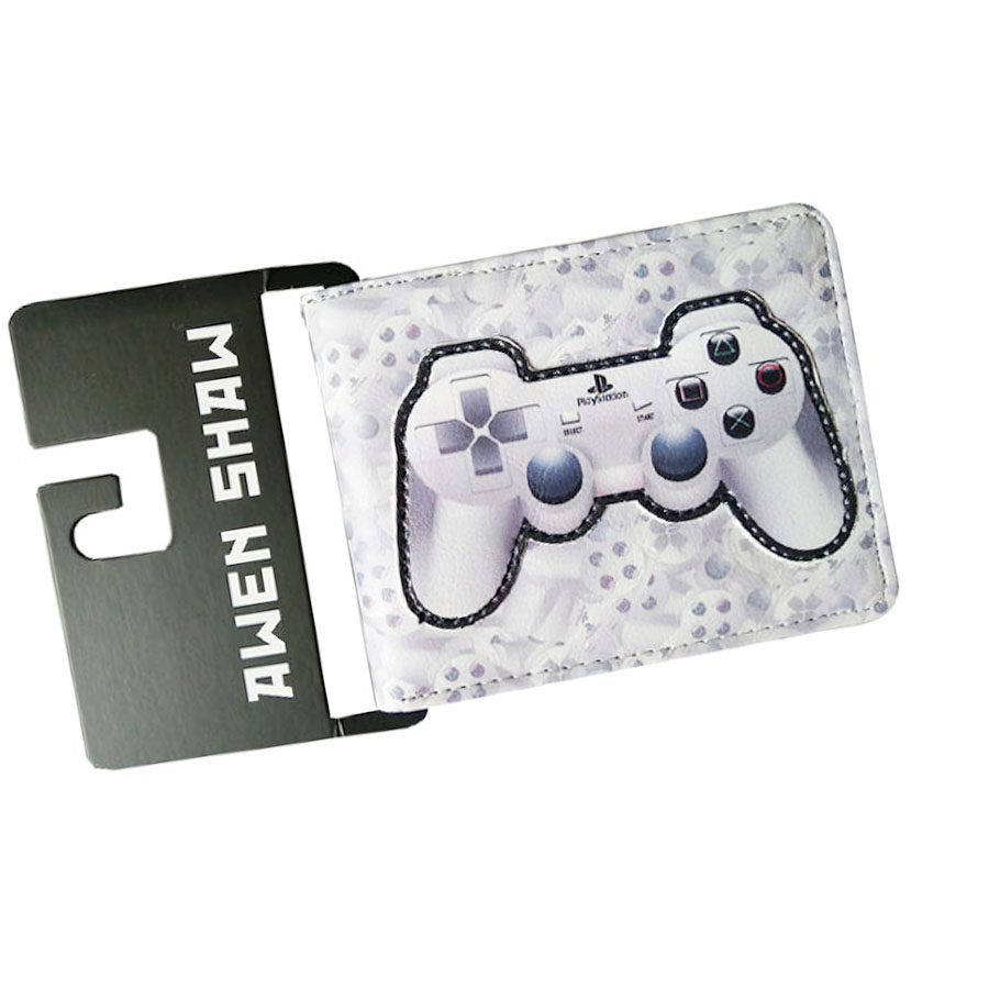 2017 New Arrival 3D Playstation Game Handle Zipper Coins Men Wallets Student Short Leather Women Child Purse Coins Cards Holder куплю диски на playstation 3 киев
