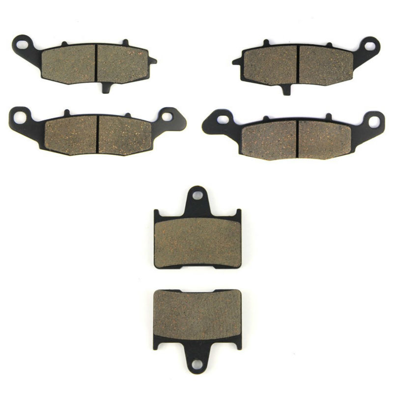 AHL Motorcycle Front & Rear Brake Pads For Suzuki F+R