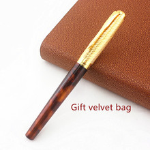 цена на High Quality Snake Clip roller ball pen Stationery School Office supplies new style Writing