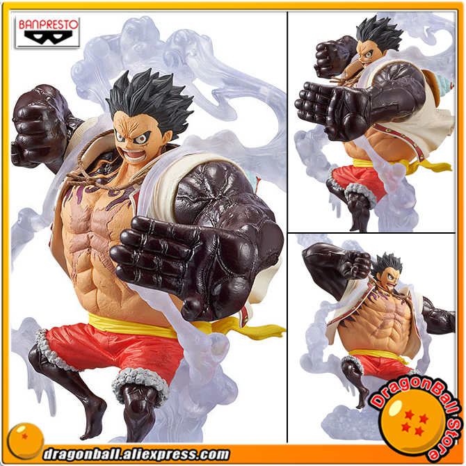 купить Japan Anime ONE PIECE Original Banpresto KING OF ARTIST / KOA Collection Figure - Gear Fourth Monkey.D.Luffy