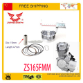 zongshen 250cc air cooled engine Piston kit cb250 JCL sunl ATOMIK KAYO dirt pit bike motorcycle accessories free shipping