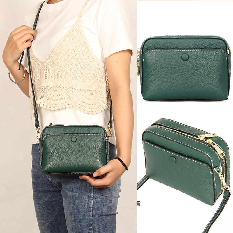 Fashion Handbag Women Small Bag 2019 New Genuine Leather Luxury Crossbody Bag For Woman Designer Ladies Shoulder Messenger Bags
