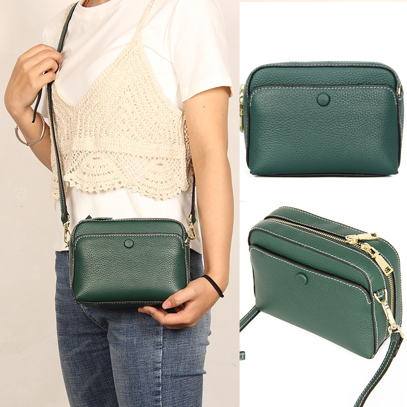 Fashion Handbag Women Small Bag 2020 New Genuine Leather Luxury Crossbody Bag For Woman Designer Ladies Shoulder Messenger Bags