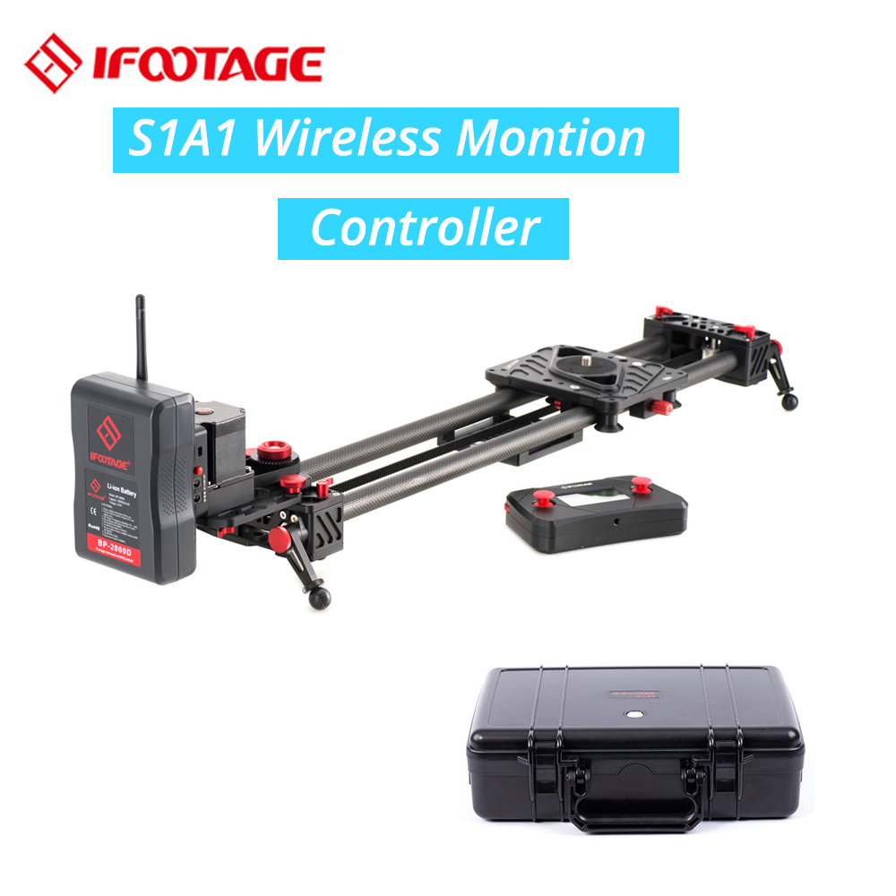 iFootage wireless motorized controller timelapse Single Axis System S1A1 for Shark Slider S1 camera video dolly track slider