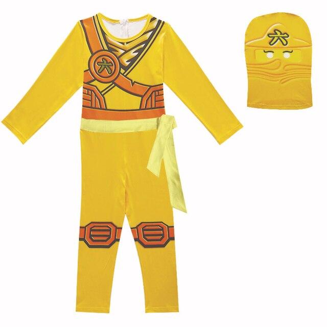 de9314d68164e Baby Boys Romper Superman Long Sleeve with Smock Halloween Christmas  Costume Gift girls Ninja Spring Autumn Ninjago Clothing