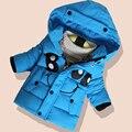 Мальчики Куртка Для Детей Зимние Куртки для Мальчиков Теплые Дети Ребенок Толстый Хлопок Пальто