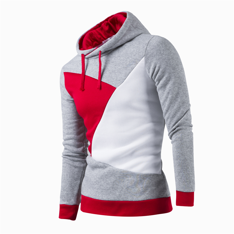 2018 Brands Hooded Men Hip Hop hoodie Jogges MenS Hoodies Color Stitching Sweatshirts MenS Casual Slim Hoodies Sweatshirts
