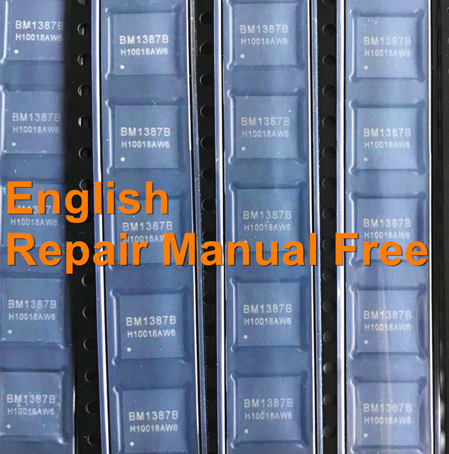 US $88 0  50PCS BM1387 BM1387B Bitcoin Miner S9 T9 T9+ Chip Free S9 hash  board repair manual ENGLISH!-in Replacement Parts & Accessories from  Consumer