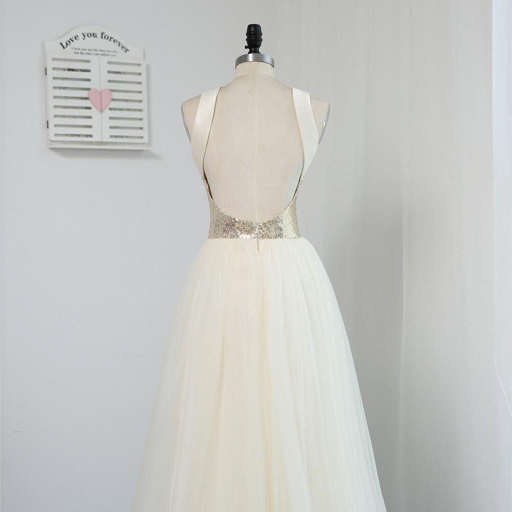 HVVLF 2019 Pigūs nuotakos suknelės iki 50 - Suknelės vestuvėms - Nuotrauka 5