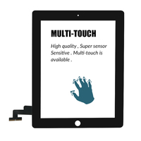 """replacement home button 9.7"""" Touch Screen For iPad 2 A1395 A1396 A1397 Touch Screen Replacement Digitizer Sensor Glass Panel For iPad2 NO Home Button (2)"""