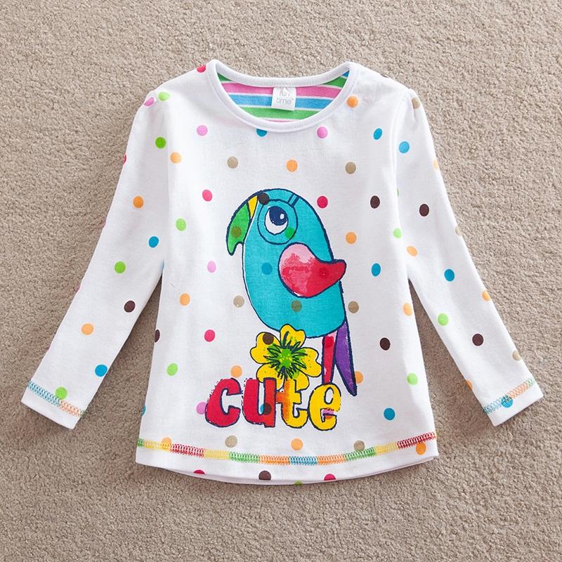 HTB1LjPJbOERMeJjy0Fcq6A7opXa9 - Girls Long Sleeve All Year T-Shirt, Long Sleeve, Cotton, Various Designs and Prints