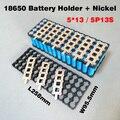 5P13S 18650 soporte de la batería + 5P2S tira de Níquel Utilizado para 48 V 10ah 12Ah 15Ah li-ion battery pack 5*13 soporte y 5*2 de Níquel cinturón