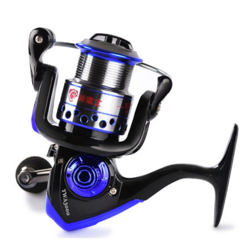 Luer roue filature pas d'écart métal pêche bobine poisson moulinet lancer tige bobine ligne peu profonde coupe roue distante pêche en plein air