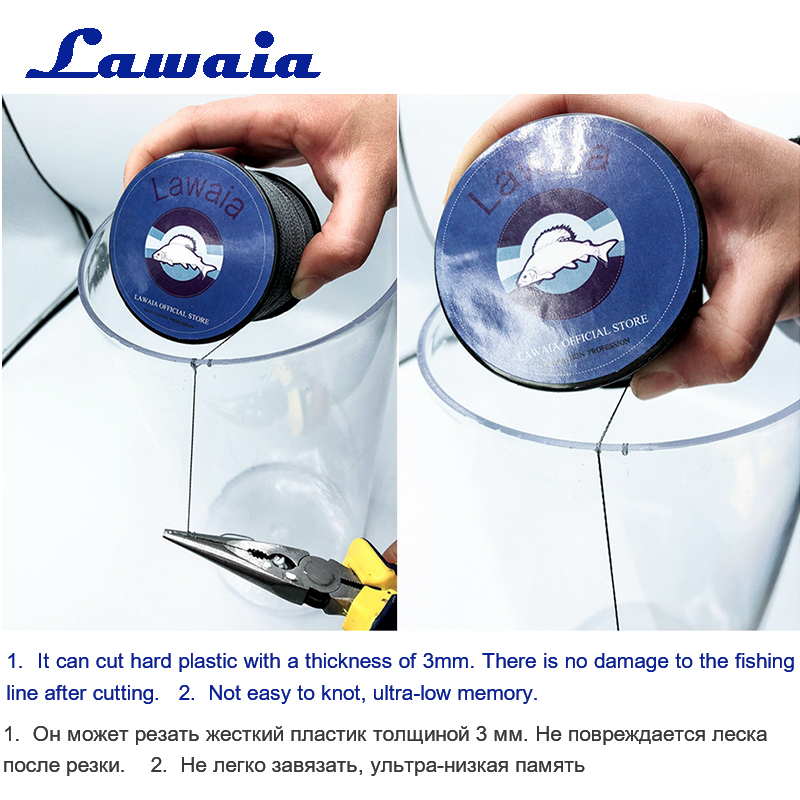 Lawaia Brand 500M Braided Fishing Line Multiple Colors 4 Strands Multi type Smooth Multifilament Fishing Lines Sink Line Fishing in Fishing Lines from Sports Entertainment