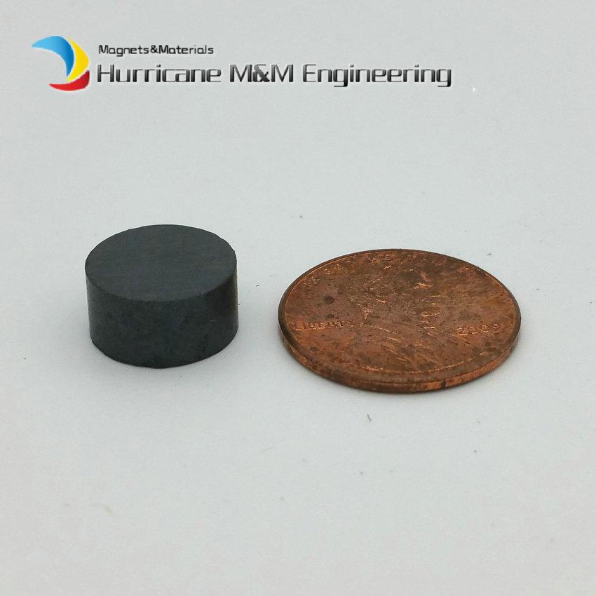 1 Pack Ferrite Magnet Disc Dia 12x6 mm grade C8 Ceramic Magnets for DIY Loud speaker Sound Box black board home use 12 x 1 5mm ferrite magnet discs black 20 pcs