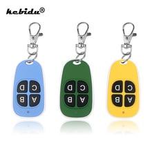 Kebidu 4 clés 433MHz télécommande sans fil copie télécommande clonage porte de Garage télécommande duplicateur clé