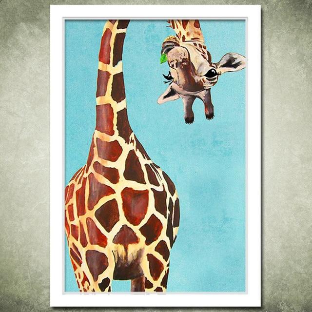 Am Besten Neue cartoon giraffe diy malerei by zahlinstallationssätze malen  ST08