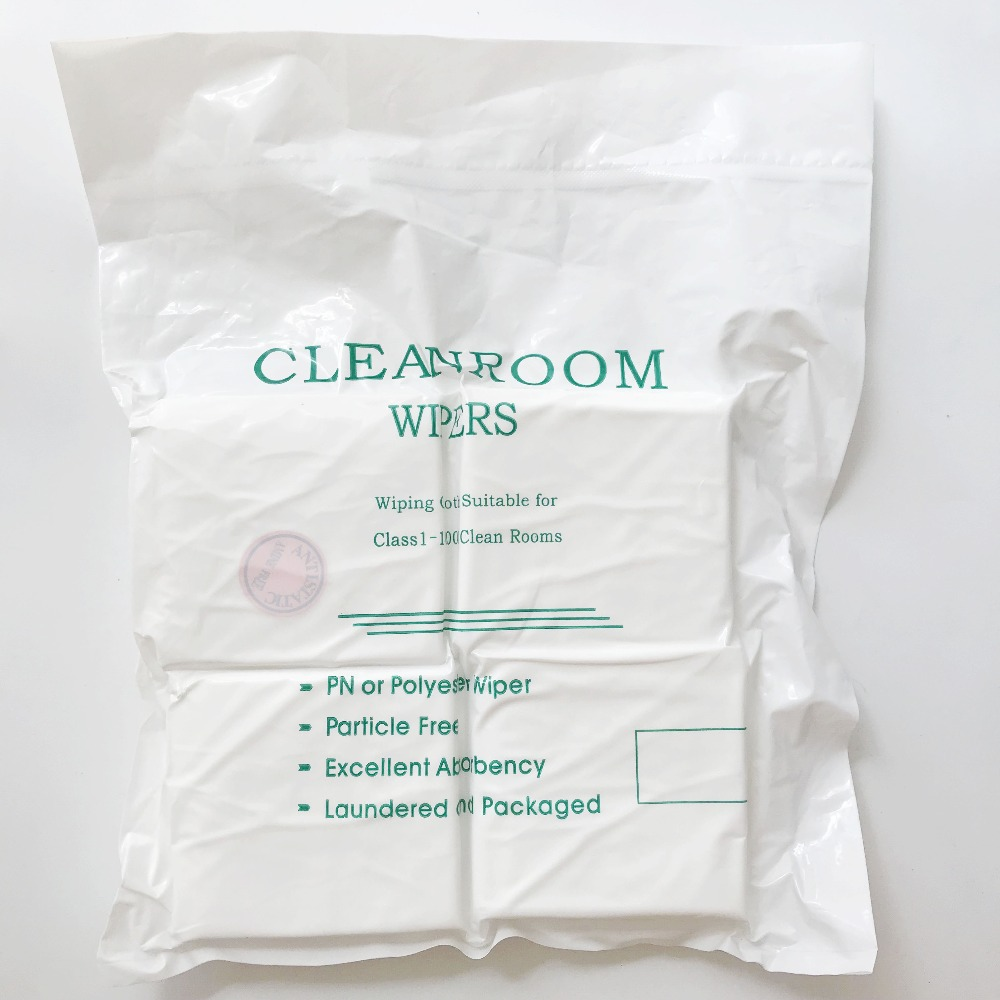 400PCSBag Cloth Cleaning Tissue Cleanroom Wiper Dustless Cloth for iphone LCD glass Fiber Camera Clean Dust Free Paper Non-dust