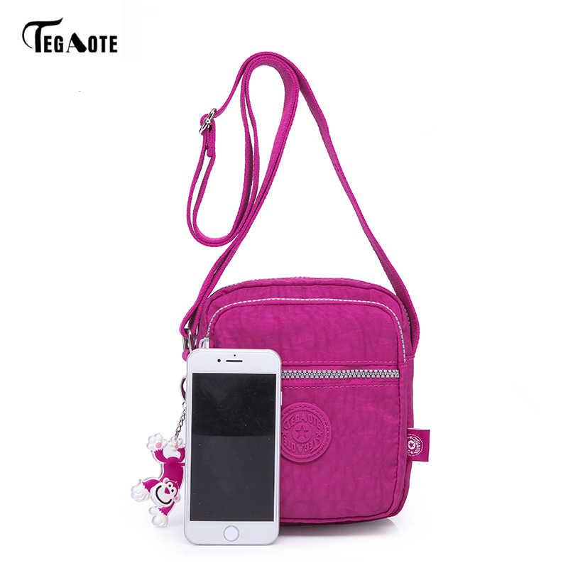 Tegaote Mewah Tas Tangan Wanita Tas Desainer Mini Wanita Tas Kurir Selempang Flap Bag Bolsa Tas Ponsel Kantong 2018 Sac Femme