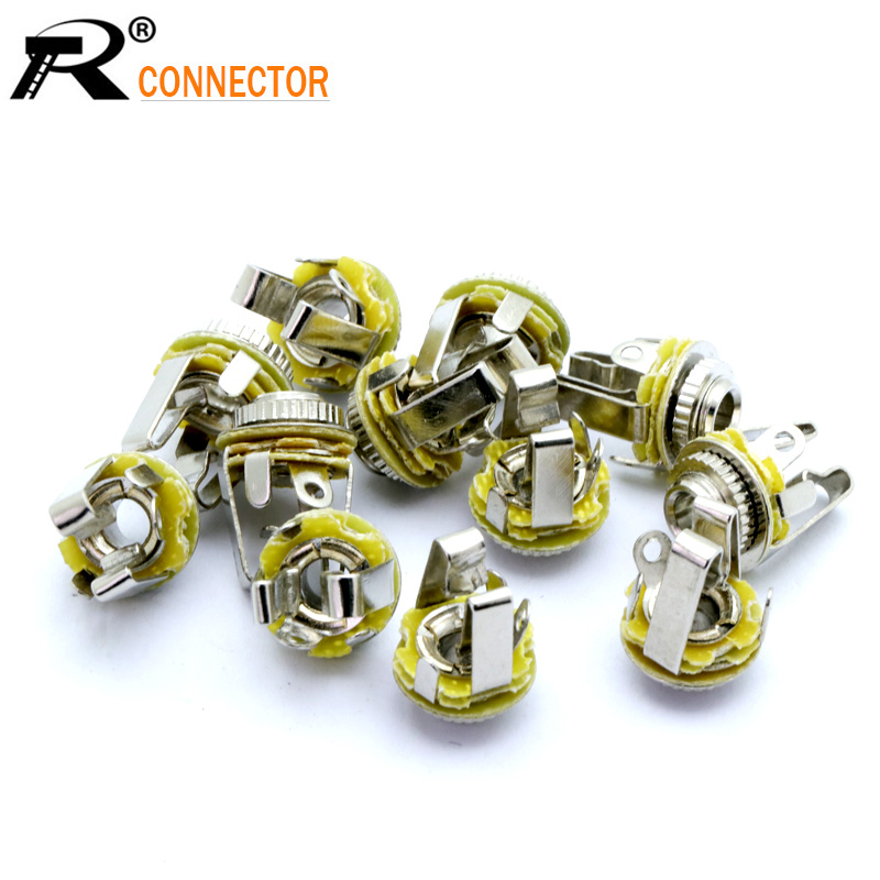 10pcs 3.5 MINI Jack 3 Pole Earphone 3.5mm 1/8