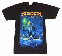 Megadeth Rust In Peace 20th Anniv 2010 Tour Black T Shirt SMALL New Official NOS Sleeve