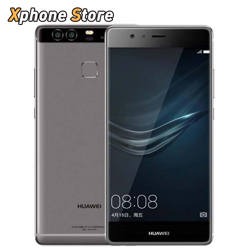 Original Huawei P9 64GB/4GB 32GB/3GB 4G LTE 3 Cameras Smartphone 5.2 inch Android 6.0 Kirin 955 Octa Core 1.8GHz Fingerprint