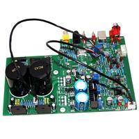 Dac 1955 디코딩 + lm3886 전력 증폭기 보드 광섬유 동축 usb 디코더 보드 yj00364