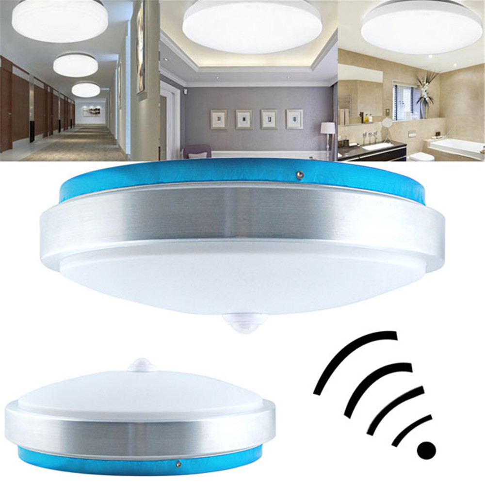 12w non dimmable pir infrared motion sensor flush mounted led 12w non dimmable pir infrared motion sensor flush mounted led ceiling light ac110 265v in ceiling lights from lights lighting on aliexpress alibaba aloadofball