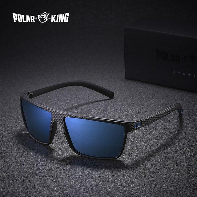 1e35d0fbb89 POLARKING Brand Retro Polarized Sunglasses For Men Oculos de sol Men s  Fashion Square Driving Eyewear Traveling Sun Glasses