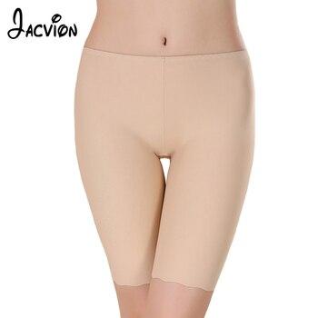 3 Pieces/Set Women Safety Short Pants Seamless Ice Silk Boy Shorts Boxer Femme Modal Briefs Panties Safety Underwear Pants women's panties
