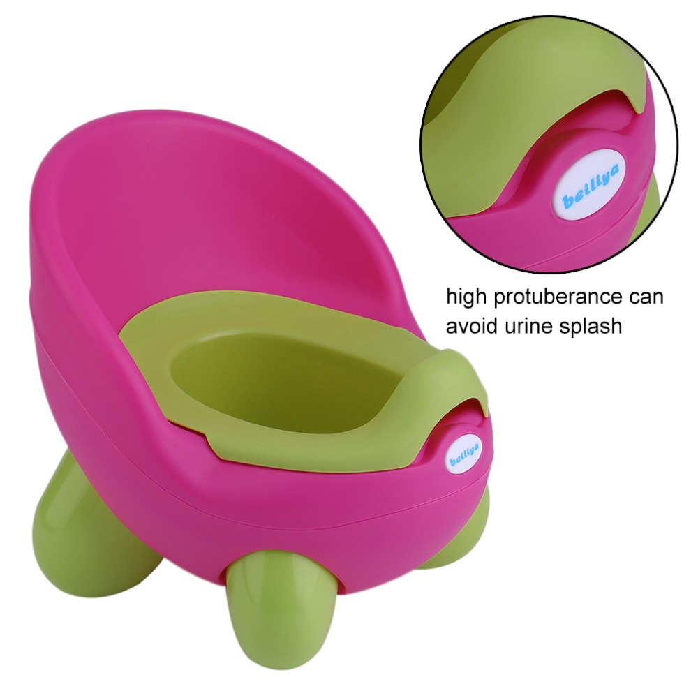Newest Egg Shape Potty Girls Baby Toddler Childrens Kids Toilet Bathroom Safe Training Chair Seat Chair Travel Trainer
