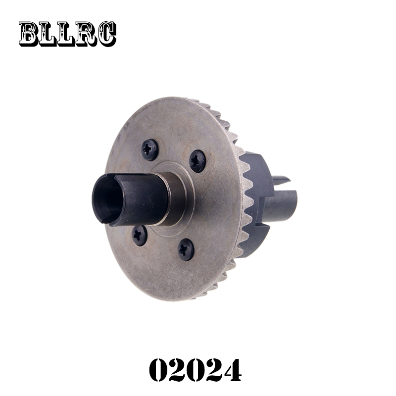 Coche RC 1/10 HSP 02024 diferencial diff Gear completo 38 tmodel coche repuestos fit buggy Monster94122 94188 94177 94166 94155