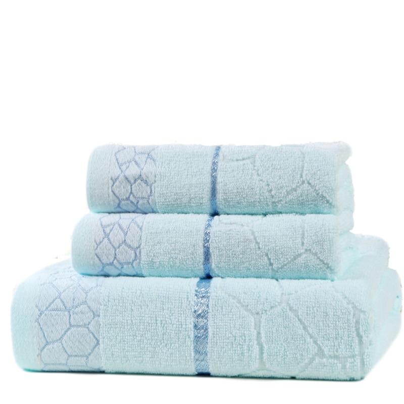 Stolni ručnik od 100% pamučne vodene kocke 3 komada ručnik za - Tekstil za kućanstvo - Foto 1