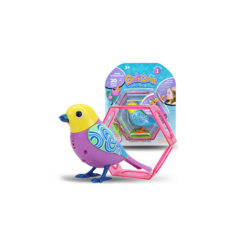 Hot Purple Sound Voice Control Activate Chirping Singing Bird Funny Kids Child Gift Toys For Children Anti-Stress Drop Shipping