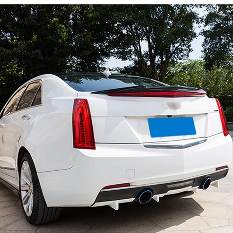 For Cadillac ATS ATS L Car Decoration 2013 2014 2015 2016 ABS Plastic Unpainted Primer Rear Trunk Spoiler