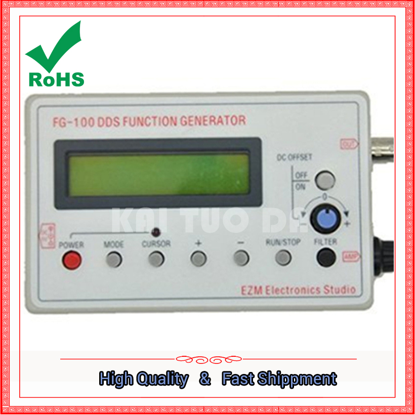 ФОТО DDS signal generator FG-100 DDS function generator