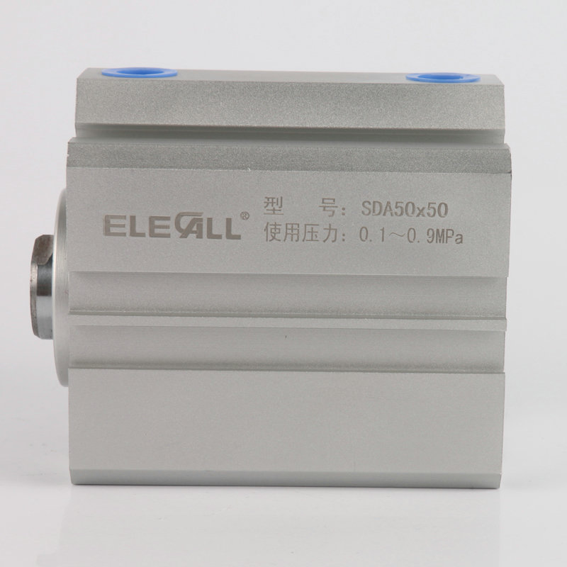 SDA50mm*40mm / 50mm Bore 40mm Stroke Compact Air Cylinders Double Acting Pneumatic Air Cylinder