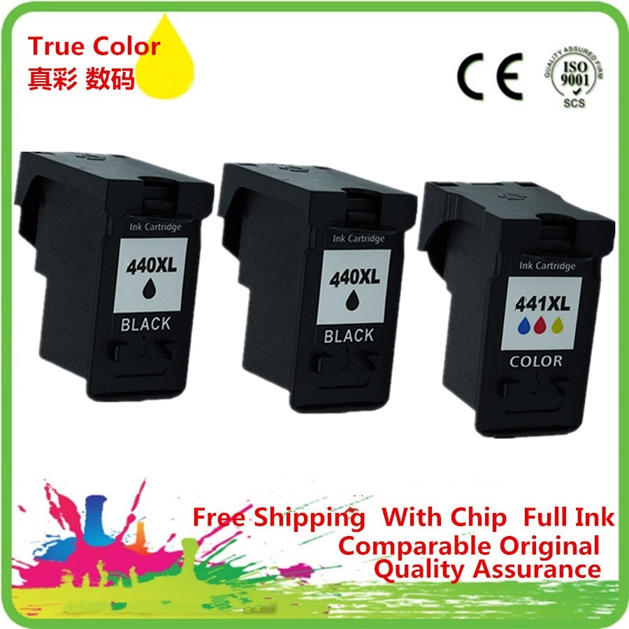 Ink Cartridge Remanufactured For <font><b>Canon</b></font> PG-<font><b>440</b></font> <font><b>XL</b></font> PG-440XL PG <font><b>440</b></font> PG440 PG440XL CL-441 CL441 CL 441 MG2180 MG3180 MG4180 MG4280 image
