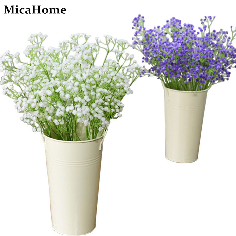 Purplewhite pretty gypsophila babys breath artificial flowers welcome mightylinksfo