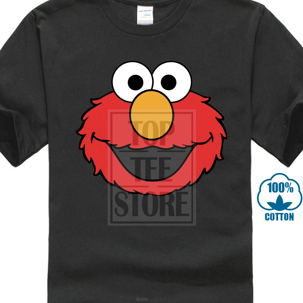 Elmo Vintage   T     Shirt   Xs S M L Xl Cookie Monster Sesame Street New Top Tees Style Fashion Men   T     Shirts   100% Cotton Classic