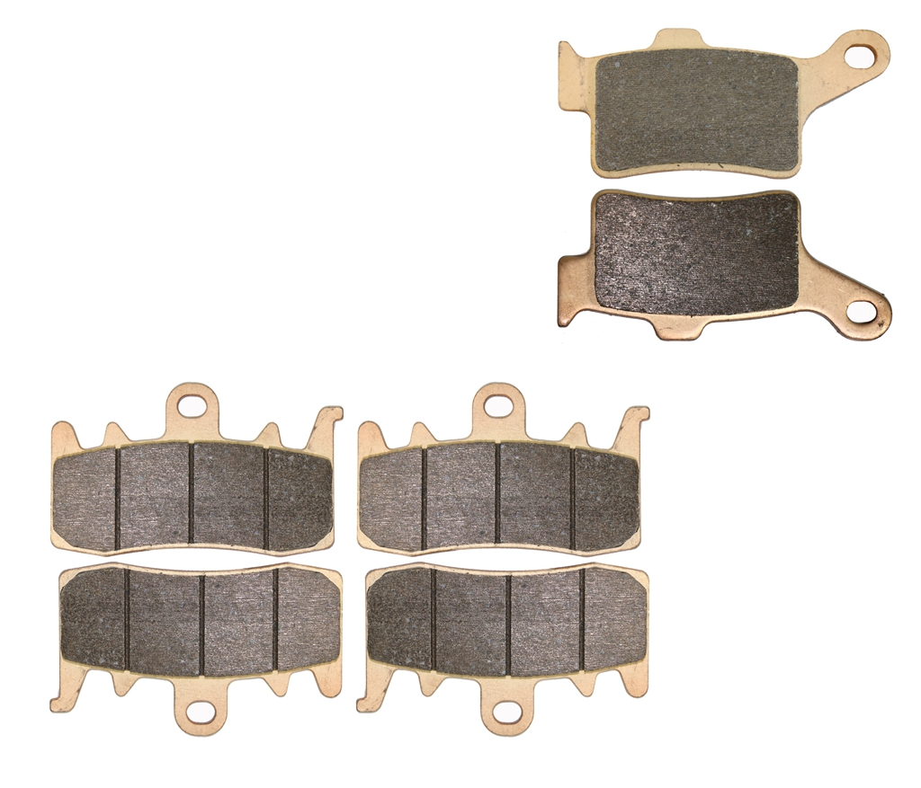 Brake Pad set fit for CAN-AM ATV Spyder Brembo calipers 2013 2014 2015 / Street bike Spyder RT RT-S 3cyleng 6 speed 2014 2015 motorcycle disc brake pads fa473 fit for can am spyder rs ses 990cc 08 09 phantom black