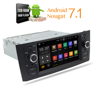 Android 7.1 2G RAM Auto Samochód DVD Stereo Nawigacji GPS Glonass radioodtwarzacz Dla Fiat Grande Punto Linea2007 2008 2009 2010 2011 2012
