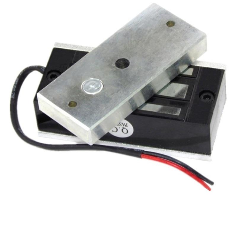 80 100KG Pulling Electric Magnet 80x35x22 mm Holding Magnet Solenoid DC 12V 24V Input Strong Lifting