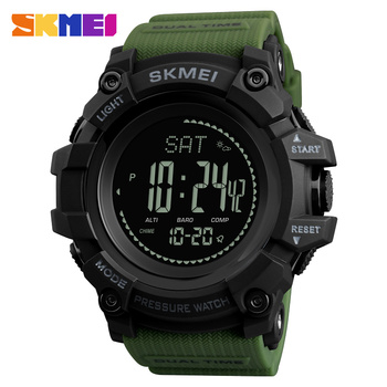 New Men Sports Watches SKMEI Brand Pressure Compass Watch Alarm Chrono Digital Wristwatches 30M Waterproof Relogio Masculino - discount item  51% OFF Men's Watches